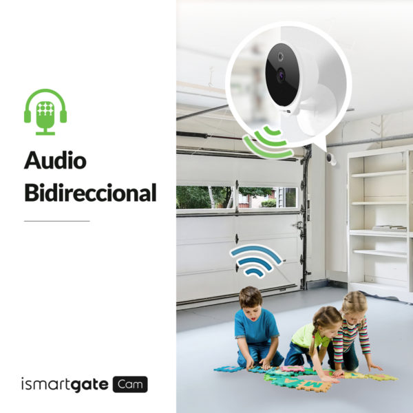 iSG-CAM-01W-Two-way audio (Indoor Cam)